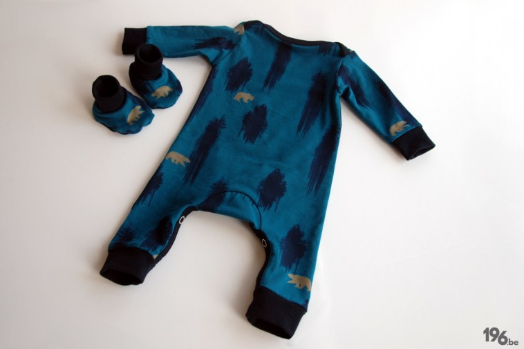 Kiind Jumpsuit Bloome babyslippers 196be (1)
